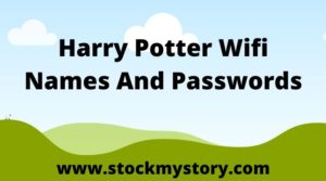 Harry Potter Wifi Names And Passwords