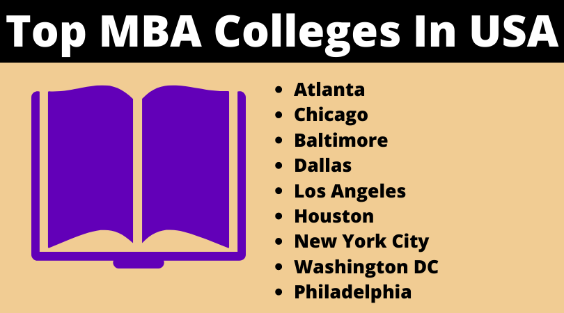 Top MBA Colleges In USA