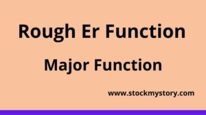 Rough Er Function
